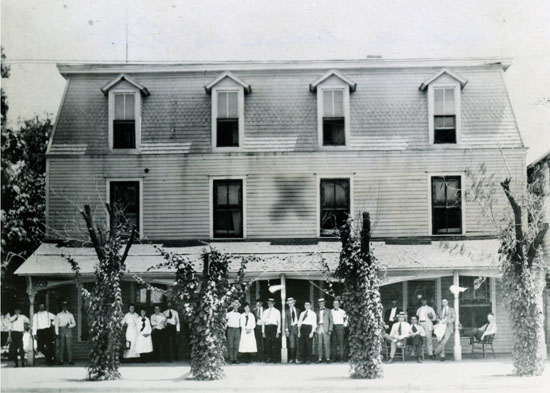 The Runnymede Hotel As It Eared After Its Move To Alva Oklahoma Was Named Hendrickson On Arrival And Went Through Several Owners